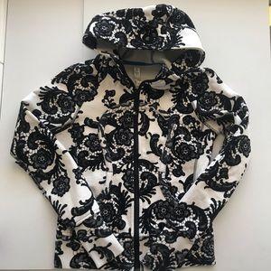 Lululemon Scuba Hoodie Laceoflage Black Floral